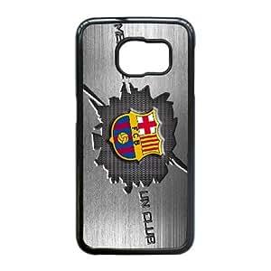 Samsung Galaxy S6 Edge Custom Cell Phone Case Barcelona FC Logo Case Cover WDFF38114
