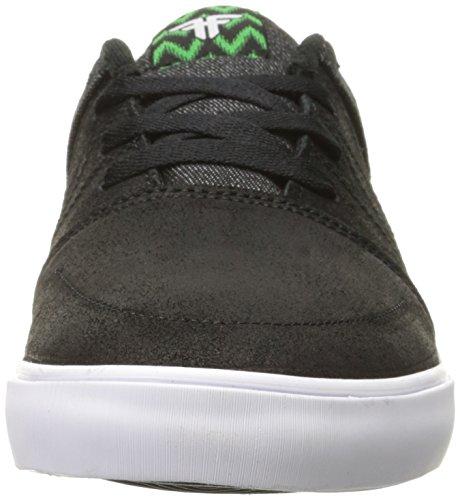 FALLEN Skateboard Shoes ROOTS BLACK/GREEN