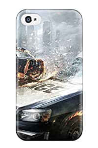 Iphone 4/4s Hybrid Tpu Case Cover Silicon Bumper 2013 Metal Gear Rising Revengeance