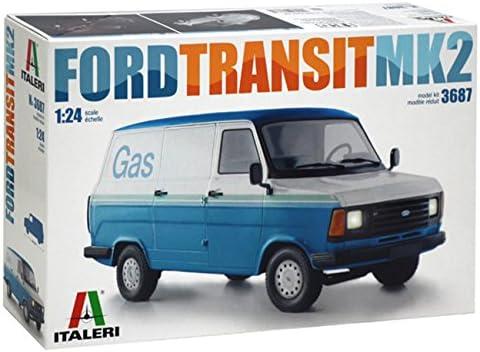 イタレリ 1/24 フォード トランジット Mk.2 プラスチックモデルキット IT3687