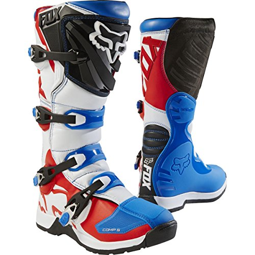 Red Motorcycle Boots - 2