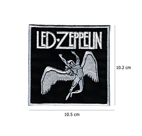 Led Zeppelin embroidered Iron on Patch High Quality Shirt Bag Cap Towel