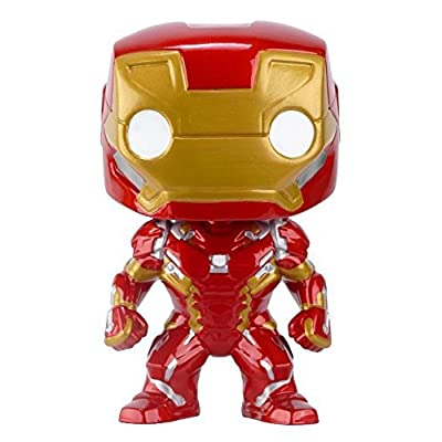 Funko POP Marvel: Captain America 3: Civil War Action Figure - Iron Man: Funko Pop! Marvel:: Toys & Games