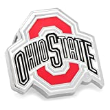 NCAA Mens Metal Ohio State University Lapel Pin (Silver-Tone) by Cufflinks