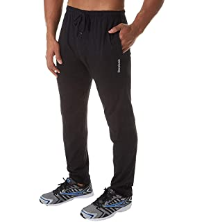 Reebok Men s Cotton Jersey-Knit Lounge Pant at Amazon Men s Clothing ... 4f6cab9aa52d