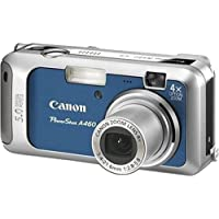 Canon PowerShot A460 5-Megapixel Digital Camera - Blue Basic Intro Review Image
