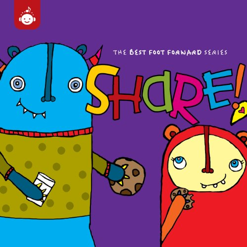 Price comparison product image Share - The Best Foot Forward Children's Music Series from Recess Music