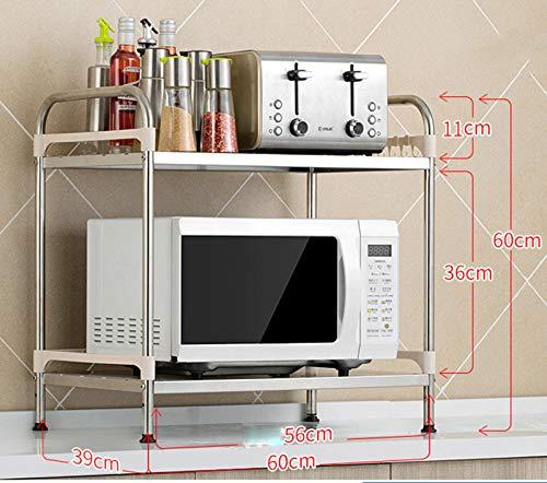 shelf Rejilla de microondas para Cocina, Rejilla de ...