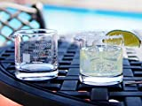 Periodic Tableware Laboratory Beaker Rocks Glasses