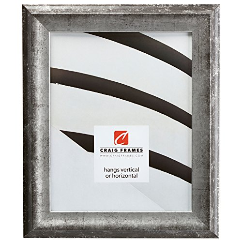 Craig Frames Verandah, Aged Silver Picture Frame, 8.5 by 11-Inch by Craig Frames Inc.