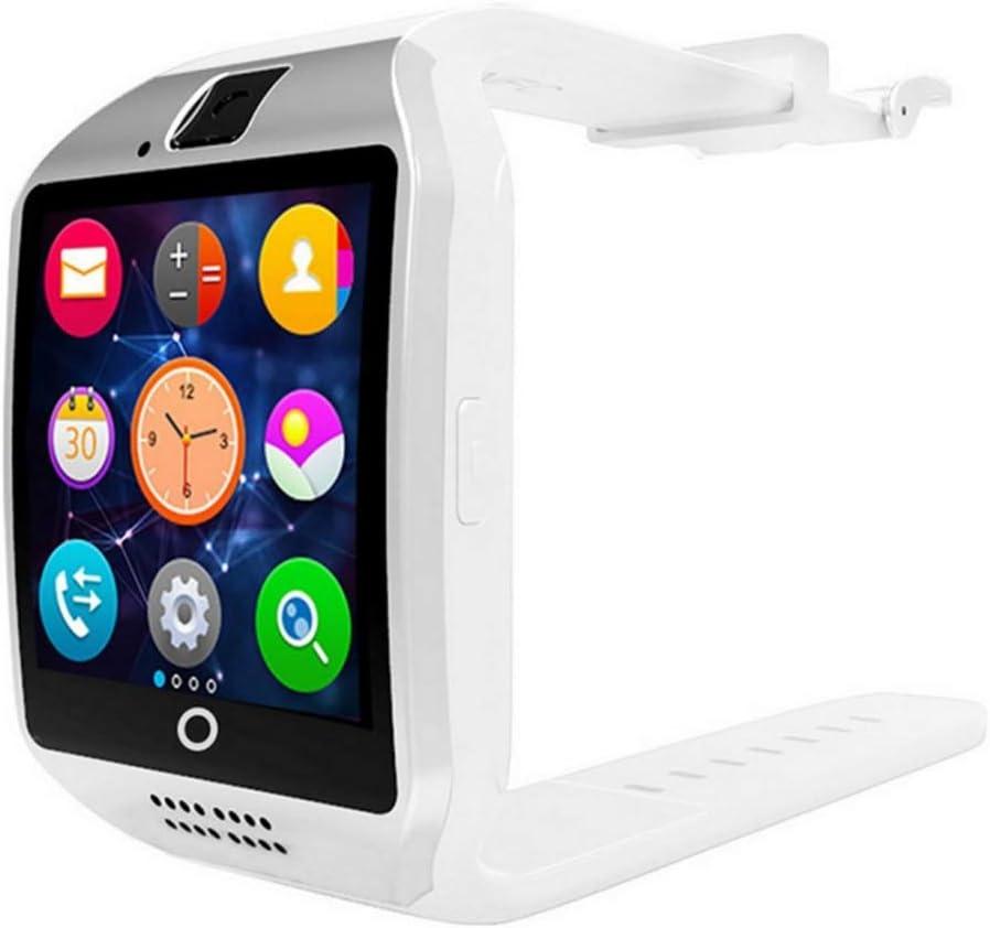 Hihey Q18 SmartWatch - Reloj inteligente con cámara, resistente al agua, reloj de pulsera deportivo con ranura para tarjeta SIM, cámara, podómetro para smartphones Android