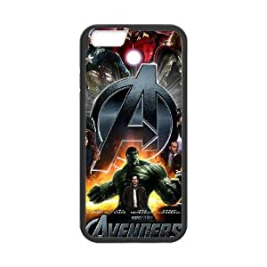 iphone6 4.7 inch Black The Avengers Logo phone cases&Holiday Gift