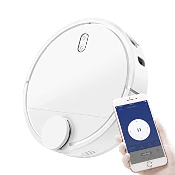 RZ Robot Aspirador con de succión 1200Pa, Control Mediante Smartphone App, Carga Automática, Adecuado para Suelos Duros y alfombras: Amazon.es: Hogar