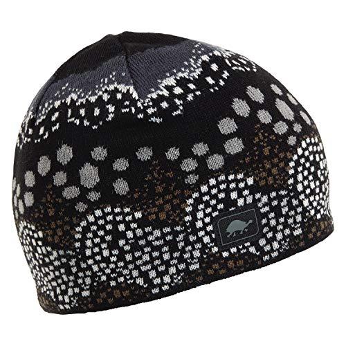 - Turtle Fur Topiary Women's Merino Wool Knit Beanie Black