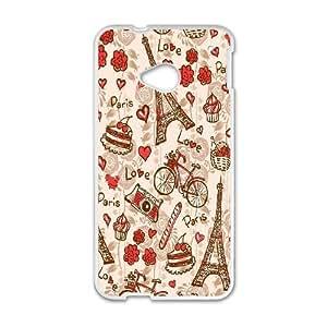 Custom Printed Phone Case kate spade For HTC One M7 RK2Q02346
