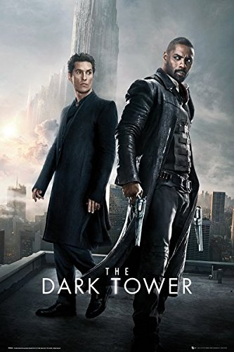 - The Dark Tower - Movie Poster / Print (Roland & Walter - City) (Size: 24