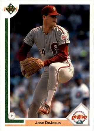 Amazoncom 1991 Upper Deck Baseball Card 486 Jose Dejesus