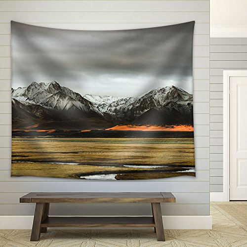 Mountain Landscape Fabric Wall Tapestry