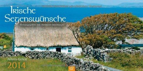 Irische Segenswünsche Jahres-Geleit 2014: Aufstellkalender