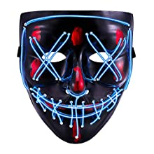 Halloween Scary Mask (blue)