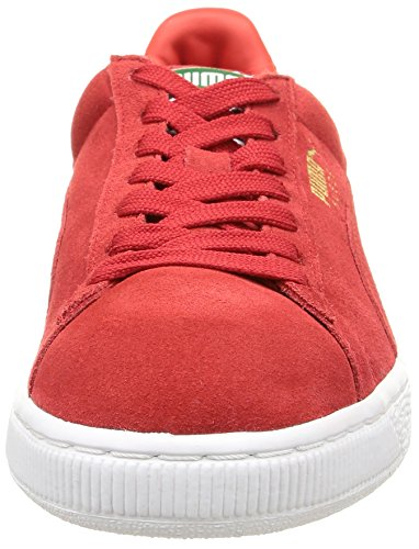 Risk Red White Rouge Puma Homme High Classic Basses Baskets ZzwqWTAF