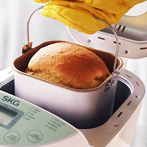 SKG Automatic Bread Machine 2LB - Beginner Friendly Programmable Bread Maker by SKG (Image #3)'