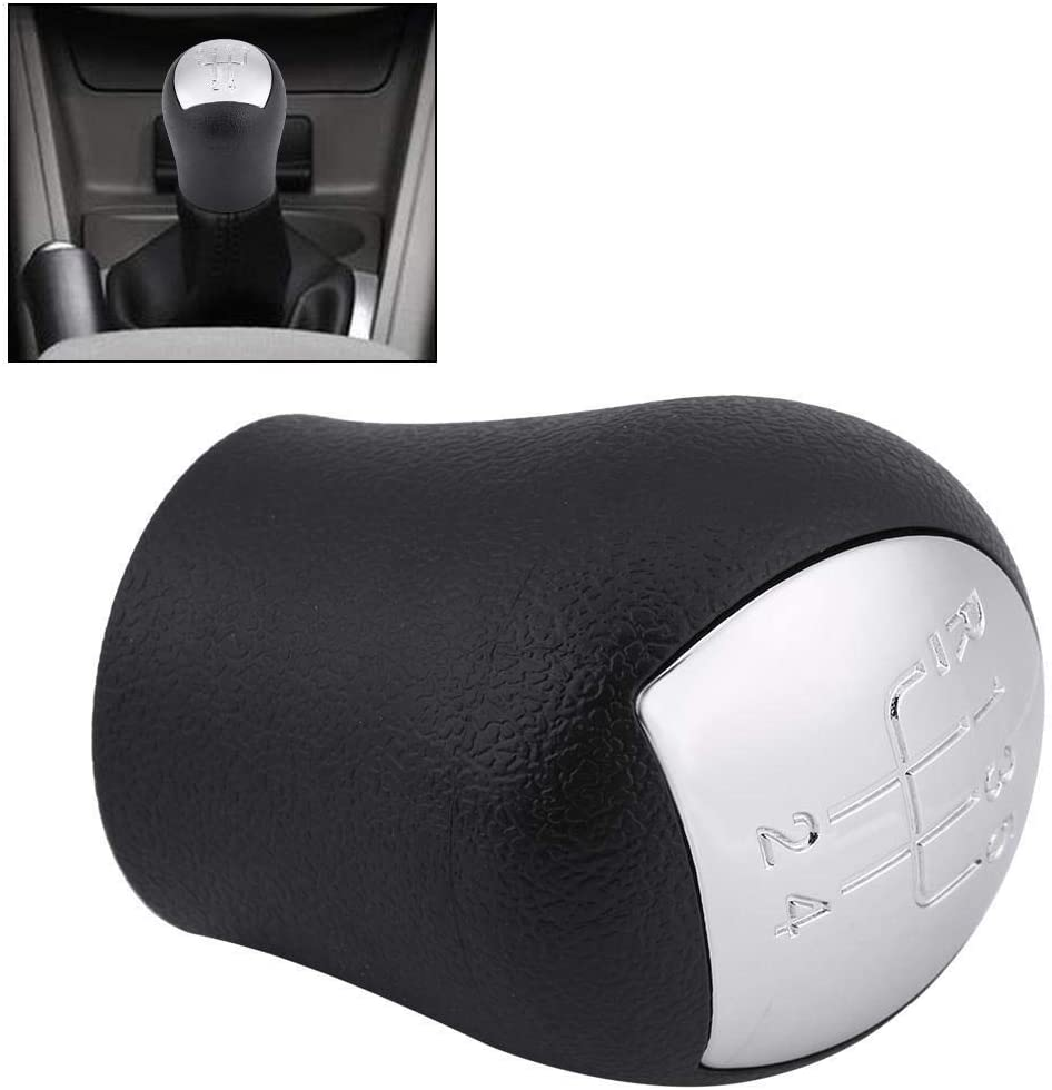 2 FASE Pomo-Car Styling Shift 5 velocidades Shift Knob Gearstick Fit for RENAULT CLIO KANGOO