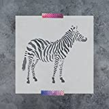 zebra stencils for painting walls - Zebra Stencil Template for Walls and Crafts - Reusable Stencils for Painting in Small & Large Sizes