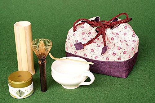 アウトドアでも抹茶が楽しめる携帯用茶道具セット 「マグマドラー de ピクニック」茶道具セット A-L B01KUWG470