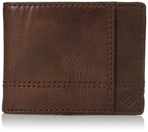 Columbia Men's RFID Security Blocking Traveler Wallet,Tan ()