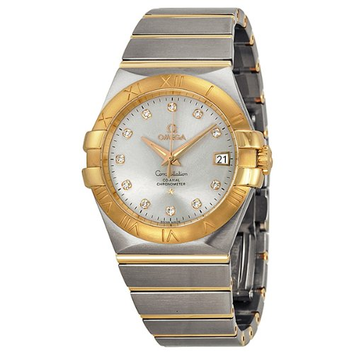 Omega Constellation Chronometer 35mm Automatic Silver Dial Unisex Watch 12320352