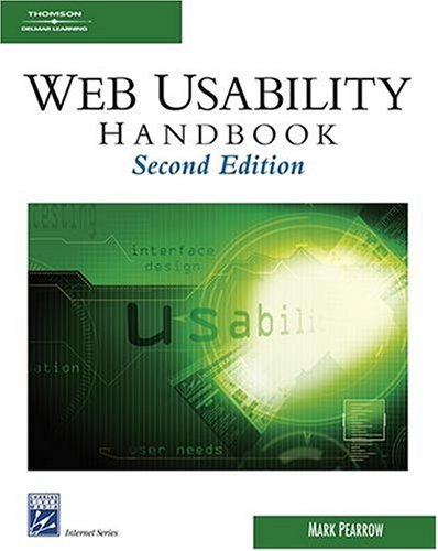 The Wireless Web Usability Handbook by Brand: Charles River Media