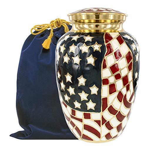 Trupoint Memorials Large Patriot Urn