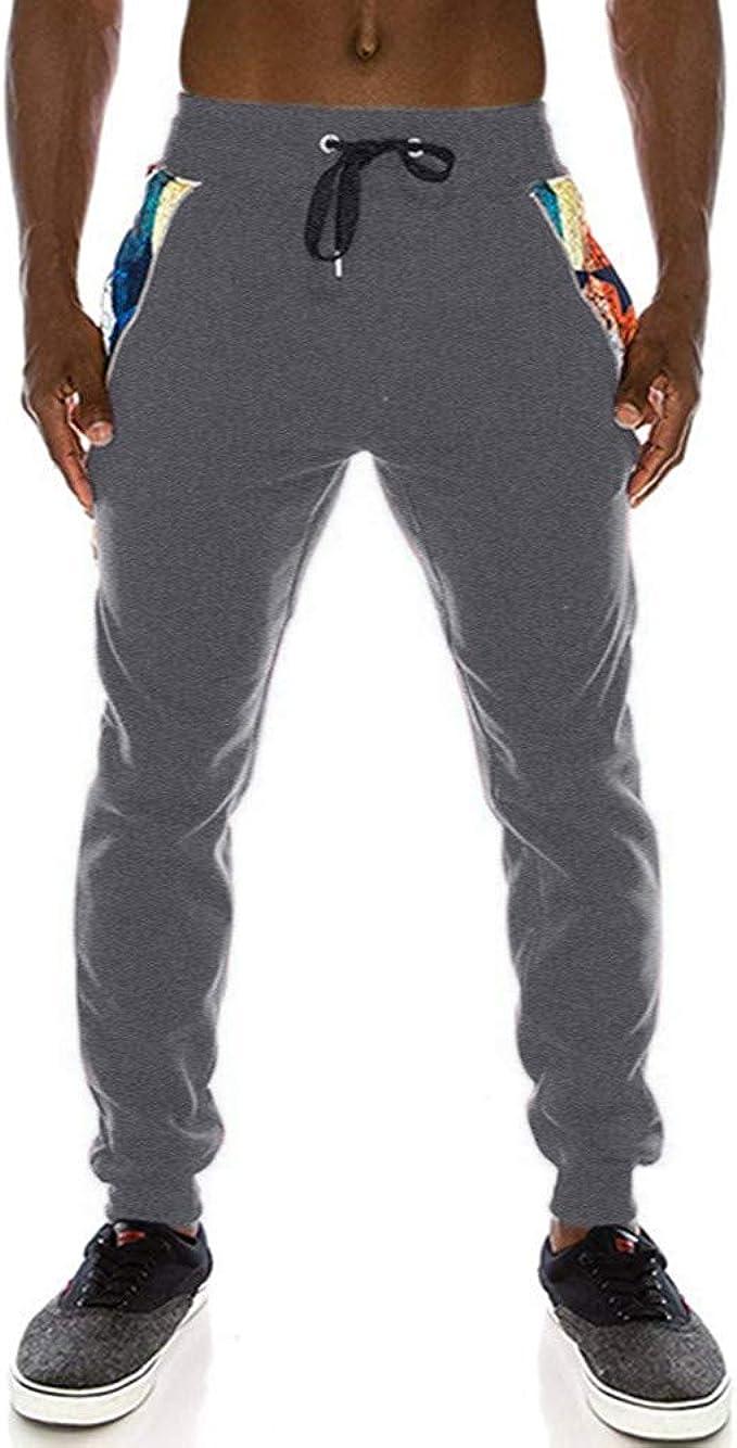 VPASS Pantalones para Hombre, Pantalones Casuales Moda ...
