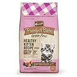 Merrick Purrfect Bistro Grain Free Healthy Kitten Dry Food, 4 lbs.