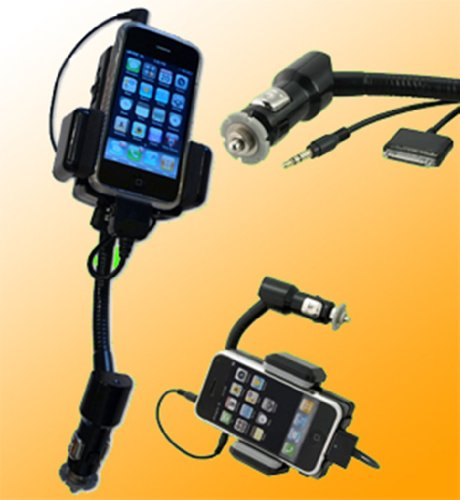 Colorfulworldstore Car Kit(All Kit) for iPod&iPhone4&3GS Handsfree