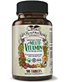 daily extra no iron - Dr. Benjamin Rush Natural Whole Food Daily Multivitamin for Men & Women All-In-One Non-GMO Superfood Vegetarian High Potency-Plus Optimum Nutrition Antioxidant Vitamin Supplement Best Size 90ct