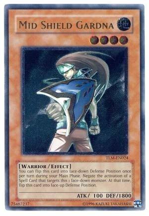 (Yu-Gi-Oh! - Mid Shield Gardna (TLM-EN024) - The Lost Millennium - Unlimited Edition - Ultimate Rare by Yu-Gi-Oh!)