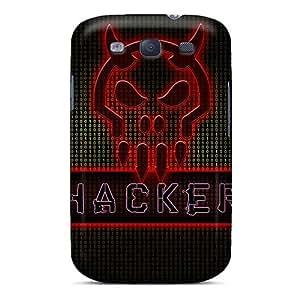Samsung Galaxy S3 TEV6500bDXI Unique Design Fashion Metallica Skin Scratch Protection Hard Cell-phone Case -DannyLCHEUNG