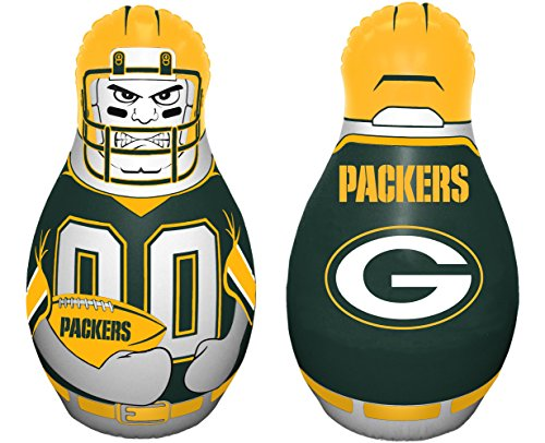 Boca Bay (NFL Green Bay Packers Tackle Buddy Inflatable Punching Bag, Team Color)