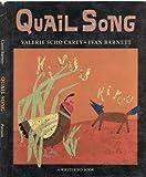Quail Song, Valerie Scho Carey, 0399219366