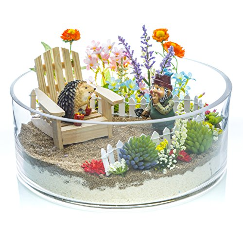 """Garden Gnome Sculpted (Terrarium Kit 
