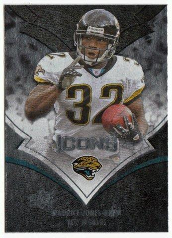 Maurice Jones-Drew (Football Card) 2008 Upper Deck Icons Rainbow Foil # 45