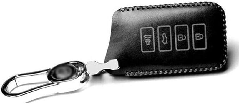 HEZHOUJI Estuches de Llaves, Estuche para Llaves de Cuero Vintage para Coche, Bolso de Control, Llavero con Llavero, para Lexus ES GS IS RC NX LX RX, Negro: Amazon.es: Electrónica