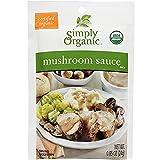 Simply Organic Mushroom Sauce Mix (Pack of 3)