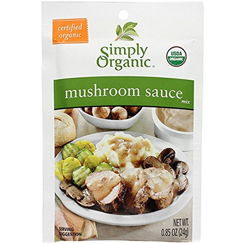 Simply Organic Mushroom Sauce Mix (Pack of 3)