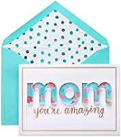 American Greetings Premier Amazing Mother's Day Card with Foil