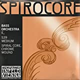 Thomastik-Infeld Spirocore 3/4 Upright Double Bass E String - Medium Gauge - Chromesteel Wound Flexible Spiral Steel Core