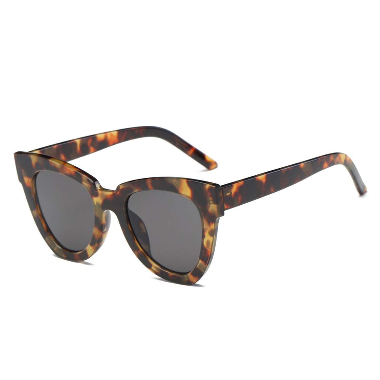 Amazon.com: Fashion Cat eye Sunglasses Women Luxury Brand ...