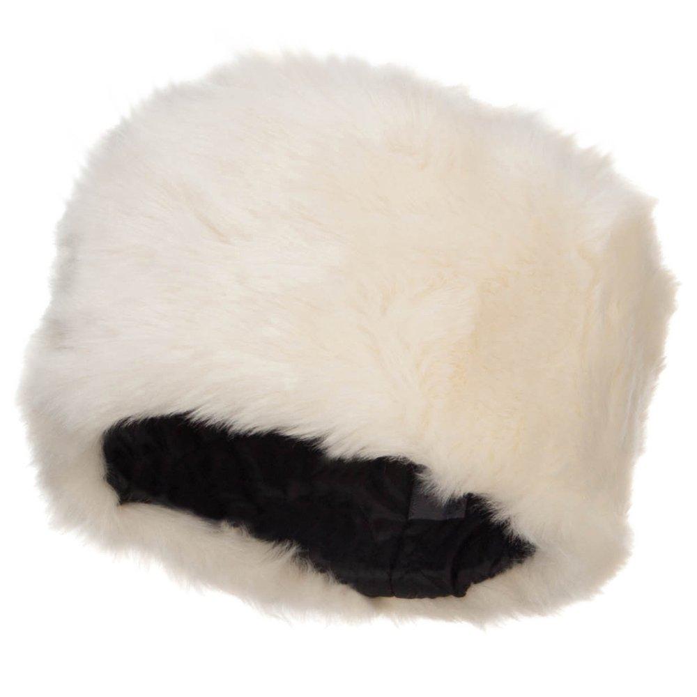 Pillbox Faux Fur Bucket Hat xt003bh-black-osfm
